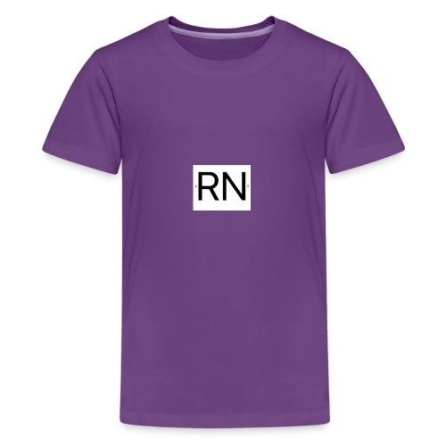 RN_Logo_small - Kids' Premium T-Shirt