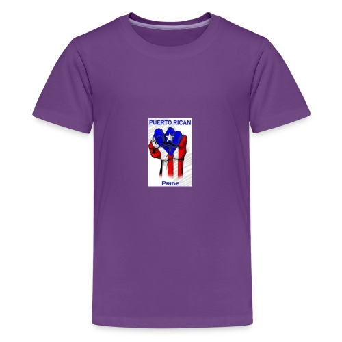 2196b2dd4c9fc916b2008e70219c0a3c puerto rican rec - Kids' Premium T-Shirt