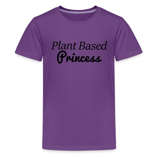 Plant Based Princess - Kids' Premium T-Shirt