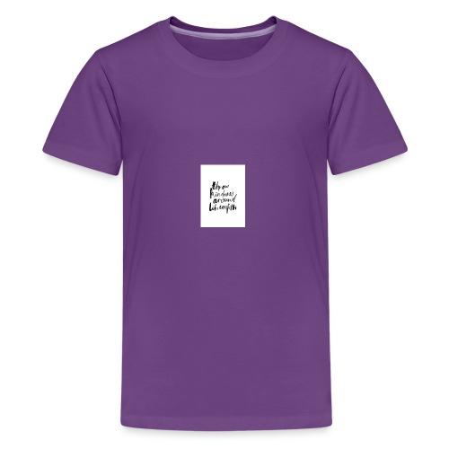 Throw kindness around - Kids' Premium T-Shirt