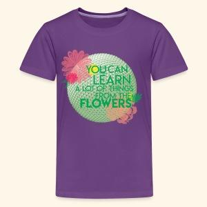 flowerandgarden - Kids' Premium T-Shirt