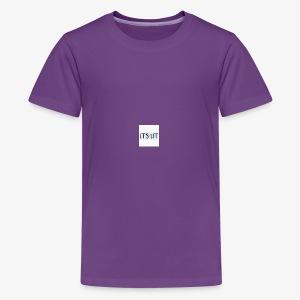 Its lit Hoodie - Kids' Premium T-Shirt
