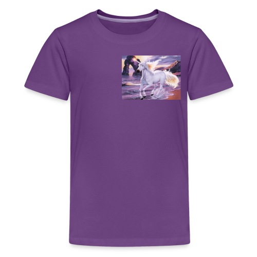 Unicorn Butterfly - Kids' Premium T-Shirt