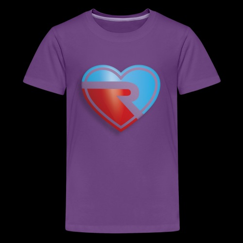 River PB Heart - Kids' Premium T-Shirt