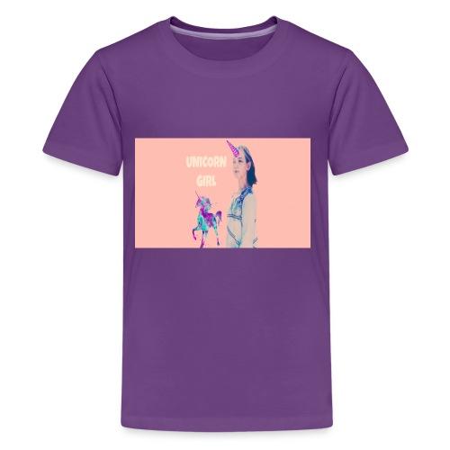 unicorn girls shirt - Kids' Premium T-Shirt
