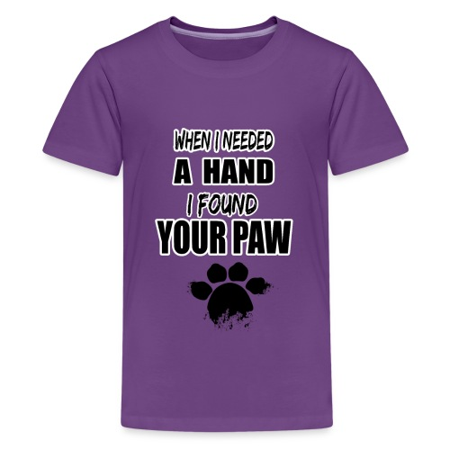 When i needed a hand - Kids' Premium T-Shirt