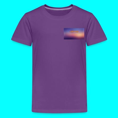 Justin Veach Purple - Kids' Premium T-Shirt