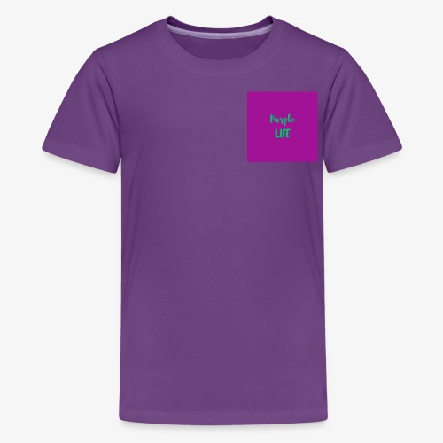 Purple Life - Kids' Premium T-Shirt