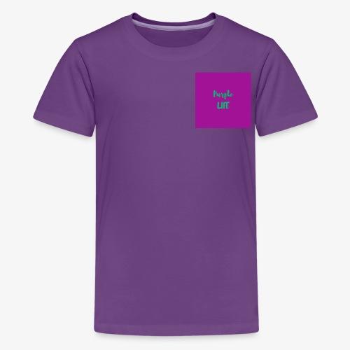 Purple Life - Kids' Premium T-Shirt