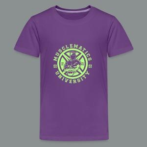 ALUMNI HIGH LIME - Kids' Premium T-Shirt