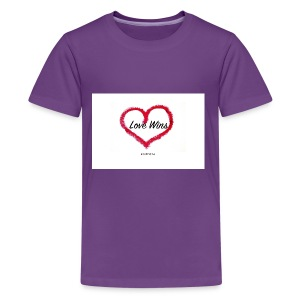 love wins - Kids' Premium T-Shirt