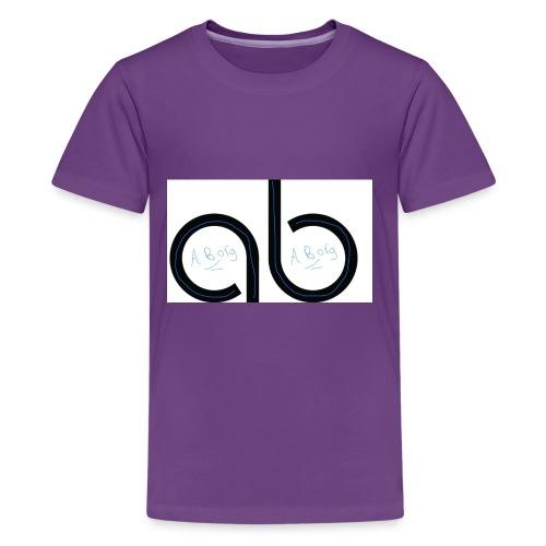 Ab signature merch - Kids' Premium T-Shirt