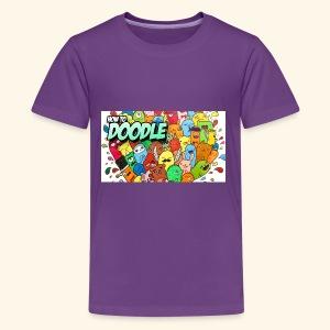 DOODLE SQUAD SPECIAL EDITION HOW TO DOODLE - Kids' Premium T-Shirt