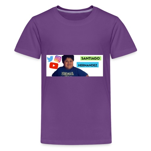 Santiago social media - Kids' Premium T-Shirt