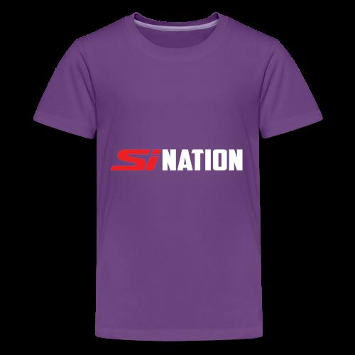 SiNation White - Kids' Premium T-Shirt