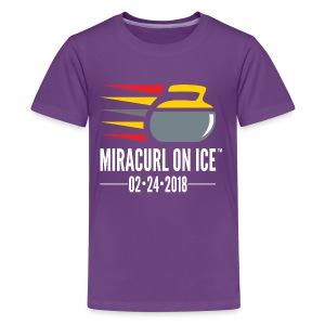 Miracurl On Ice Celebration - Kids' Premium T-Shirt