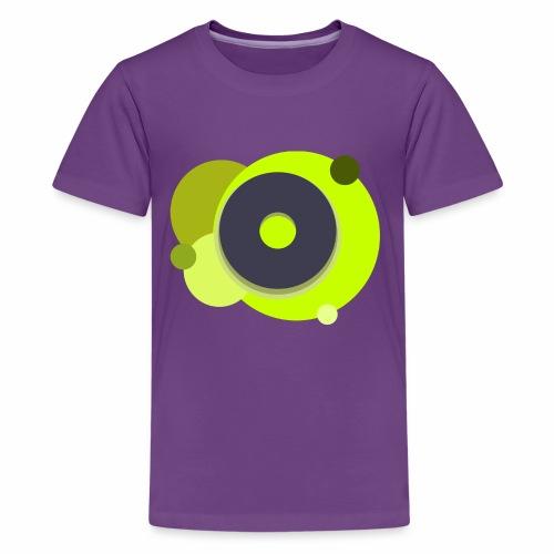 Yellow Donut - Kids' Premium T-Shirt