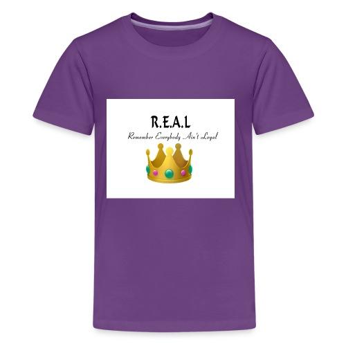 REALcrown - Kids' Premium T-Shirt