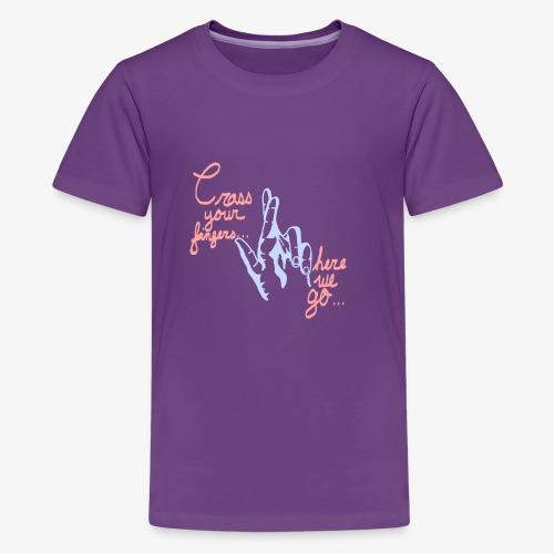 Cross Your Fingers - Kids' Premium T-Shirt