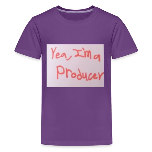 Yea, I'm a Producer - Kids' Premium T-Shirt