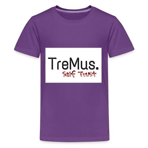 TreMus Self Trust - Kids' Premium T-Shirt