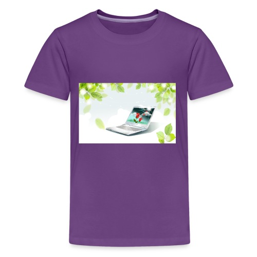 Digital World 63 - Kids' Premium T-Shirt