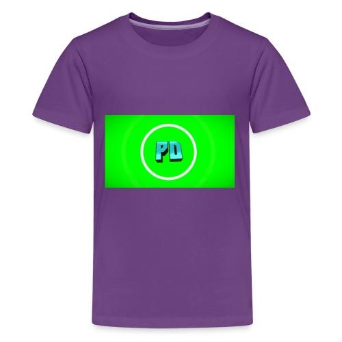 PD Green - Kids' Premium T-Shirt