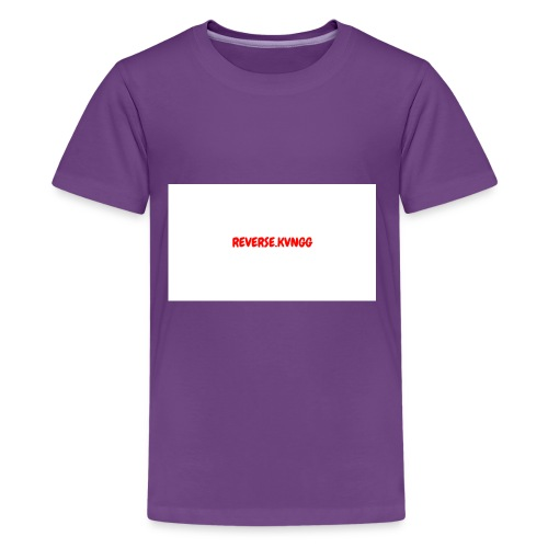 REVERSE KVNGG 1 - Kids' Premium T-Shirt