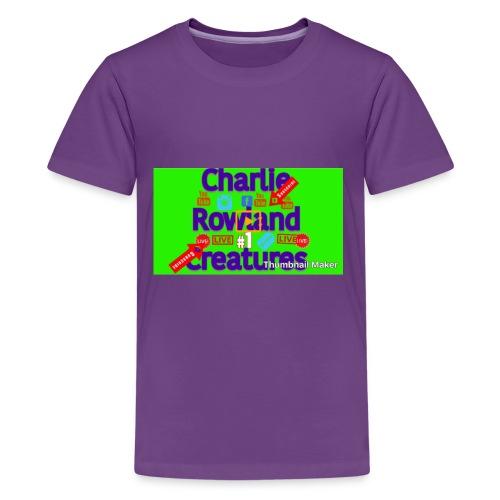 CF91BEF7 C753 47D8 9968 6C041FC9ACC9 - Kids' Premium T-Shirt