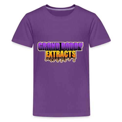 Grand Daddy Purp Extracts Logo - Kids' Premium T-Shirt