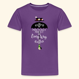 Practically Full-Colored b - Kids' Premium T-Shirt