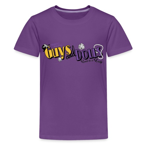 MMTC's Guys and Dolls 2018 - Kids' Premium T-Shirt