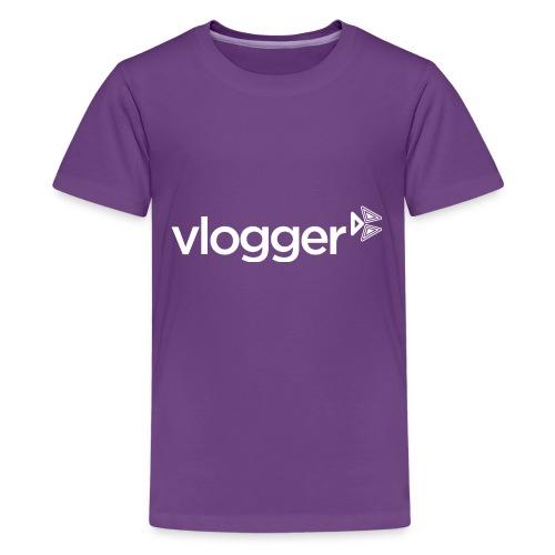 Vlogger T-Shirt - Kids' Premium T-Shirt