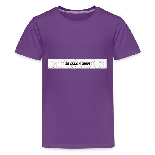 BB, Craze & Sheepy - Kids' Premium T-Shirt