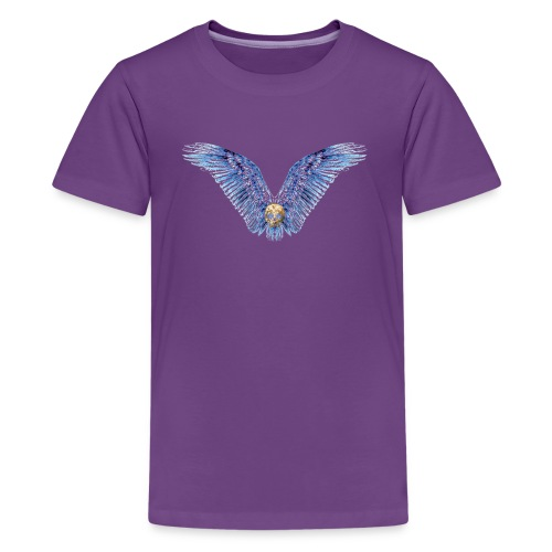 Wings Skull - Kids' Premium T-Shirt