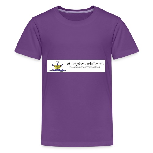 Wanyheadpress Logo - Kids' Premium T-Shirt