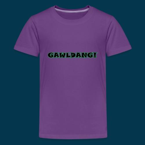 GAWLDANG (Black) - Kids' Premium T-Shirt