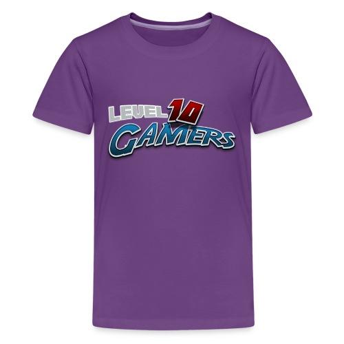 Level10Gamers Logo - Kids' Premium T-Shirt