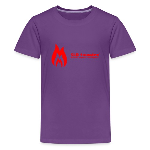 SLO thunder official logo - Kids' Premium T-Shirt