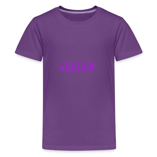Purp Long-Sleeve - Kids' Premium T-Shirt