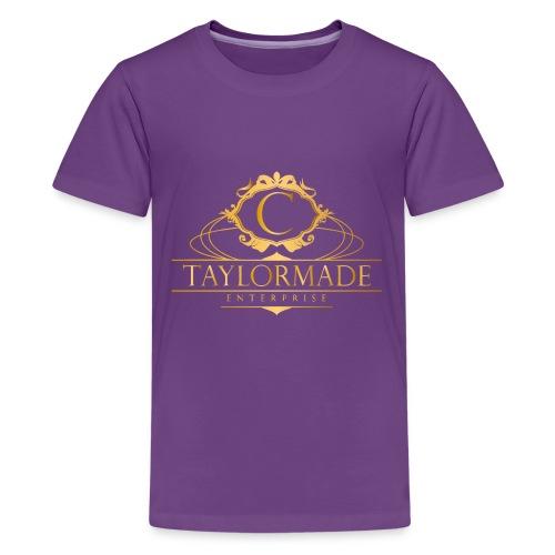cTaylorMade White T-Shirt - Kids' Premium T-Shirt