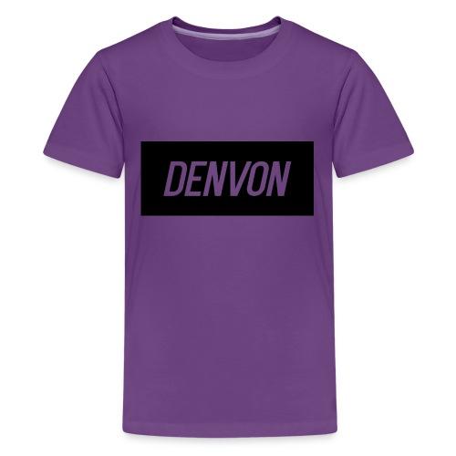 Denvonshirtlogo - Kids' Premium T-Shirt