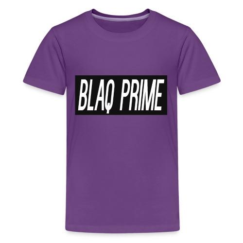 Blaq Prime Box Logo - Kids' Premium T-Shirt