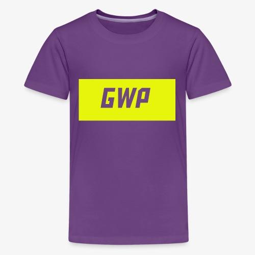 gwp yellow - Kids' Premium T-Shirt