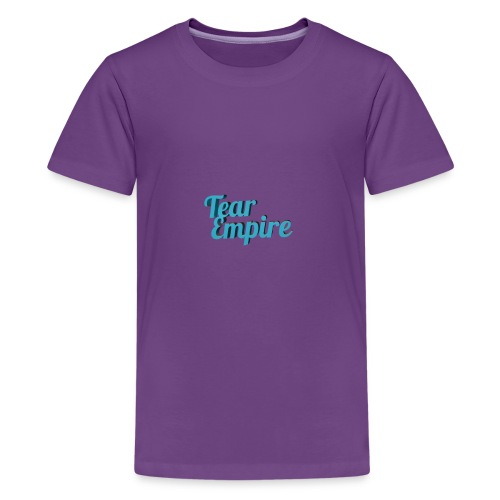 Tear empire logo - Kids' Premium T-Shirt