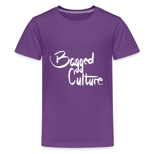 Bagged Culture white - Kids' Premium T-Shirt