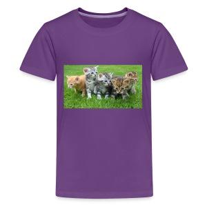 kittens - Kids' Premium T-Shirt