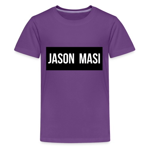 jason-masi-name - Kids' Premium T-Shirt