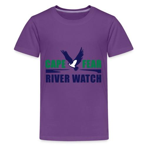 Cape Fear River Watch Logo - Kids' Premium T-Shirt