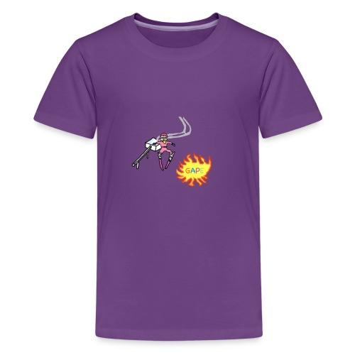 Gape Hoodie - Kids' Premium T-Shirt